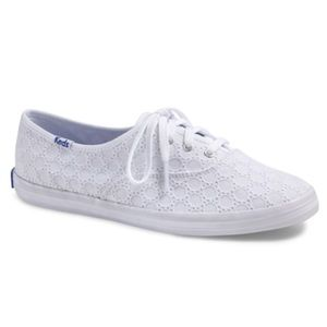 Keds Champion White Eyelet Sneakers Classic Shoes